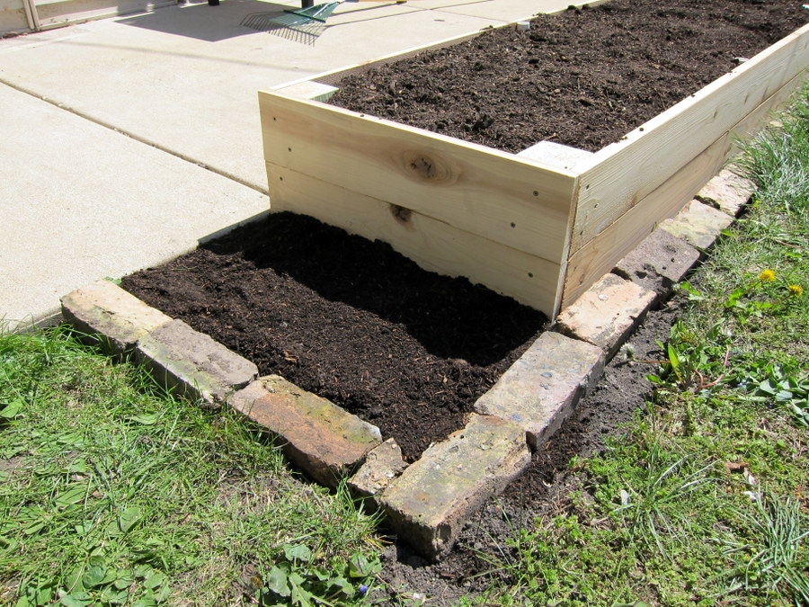 10 Tons Of Dirt : Raised garden beds two tons of soil one bucket project