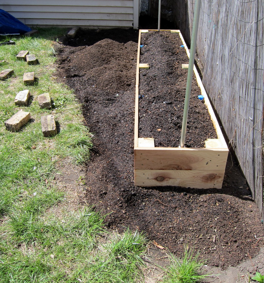 Raised Garden Beds: Two Tons Of Soil, One Bucket