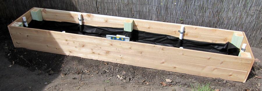 pipe netting garden trellis project palermo
