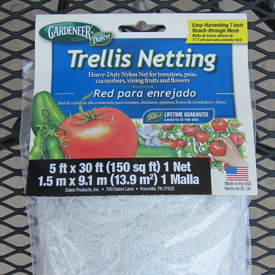 pipe netting garden trellis project palermo