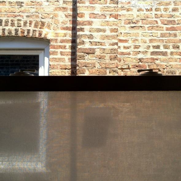 Fabric Covered Window
