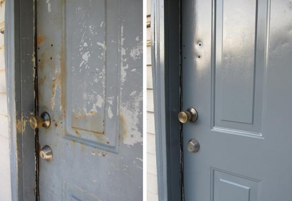 Door Knob Before After