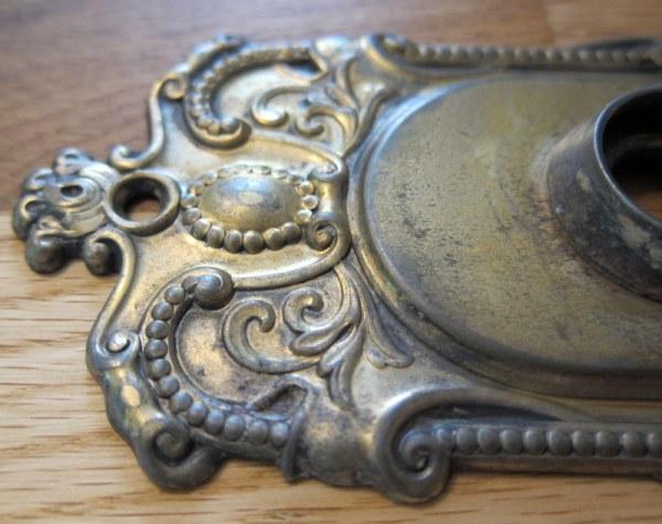 Brass Door Plate