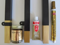 Gold Leaf Paint Options