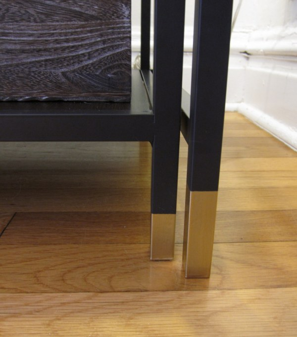 Dip Dyed Table Legs