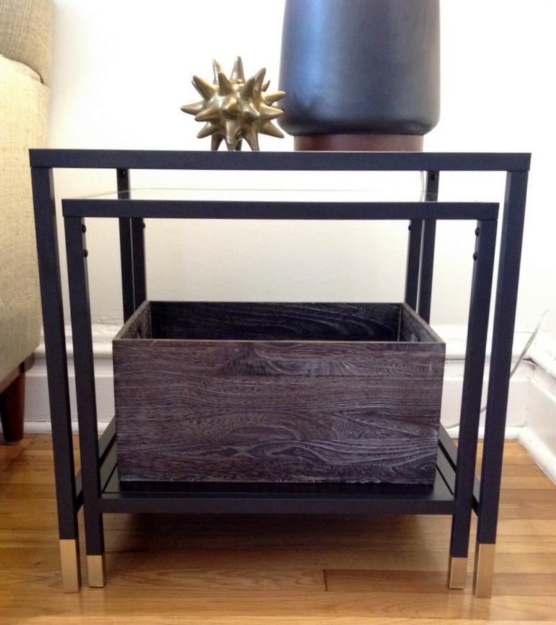 Step By Step IKEA VITTSJO Nesting Table Hack