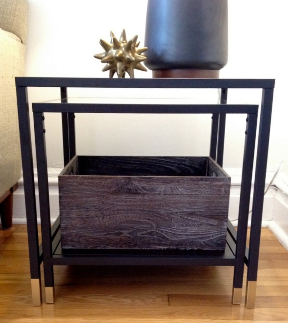 DIY IKEA VITTSJO Nesting Tables