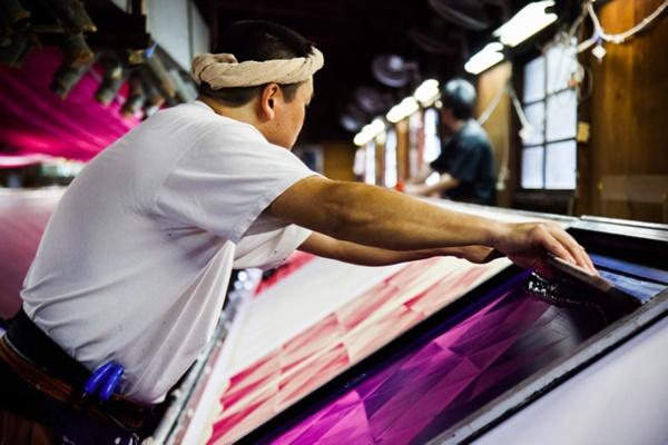 Furoshiki Scarf Printing