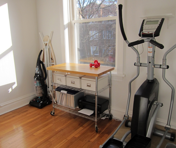 Elliptical Machine Room
