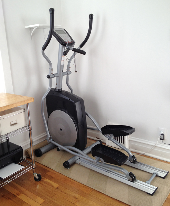 Elliptical Machine Setup