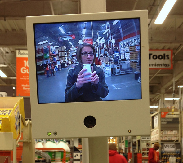 Self Portrait at The HomeDepot