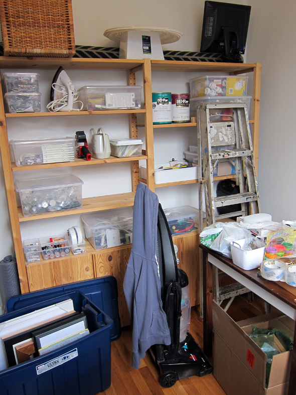 Storage Room Mess