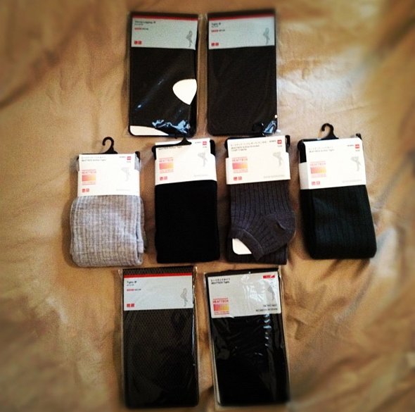 Uniqlo Tights Haul