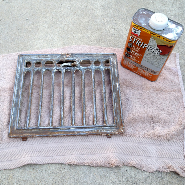 Antique Grate and Stripper