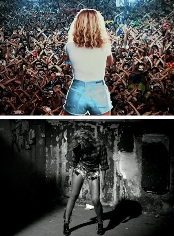 Beyonce Jean Shorts