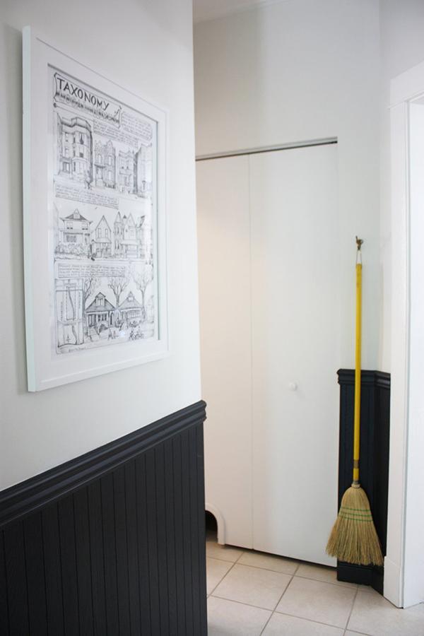 Cathole Litter Box Closet Cat Door Project Palermo