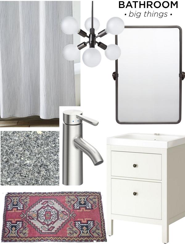 Bathroom Plan - Big Things