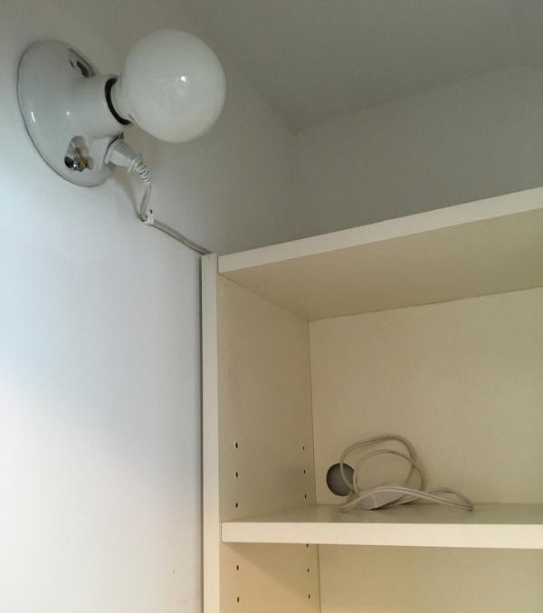 Bathroom Closet Charging Station