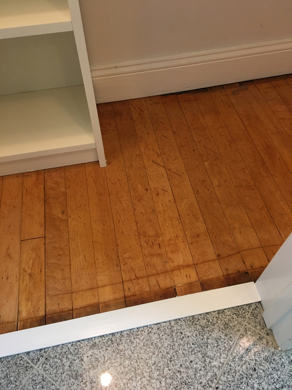 Bathroom Closet Floor After 4