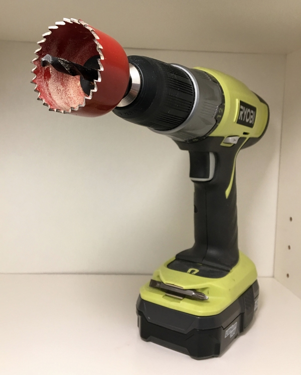 Drill for Cutting Holes
