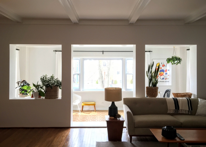 Living Room and Sunroom: Progress andPlans