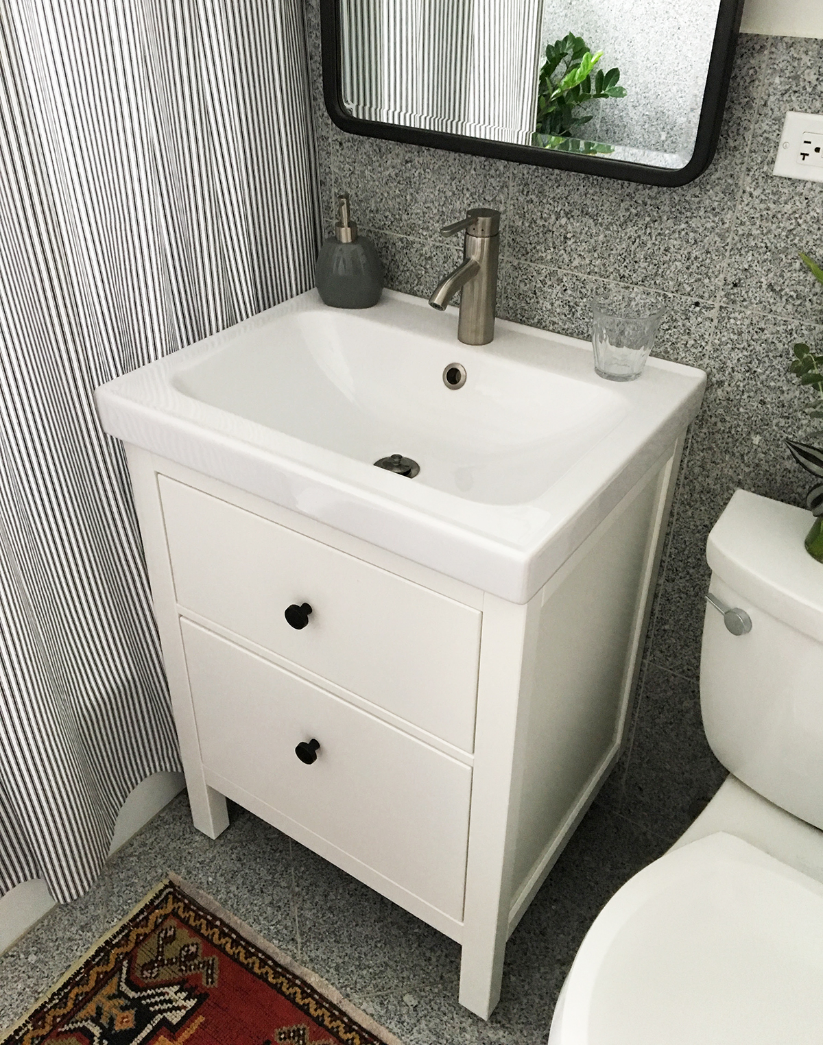 Captivating After: Ikea Hemnes Vanity.JPG
