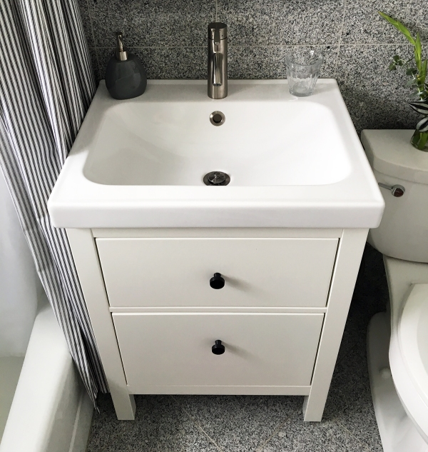 How I Installed an IKEA Bathroom Vanity – Project Palermo
