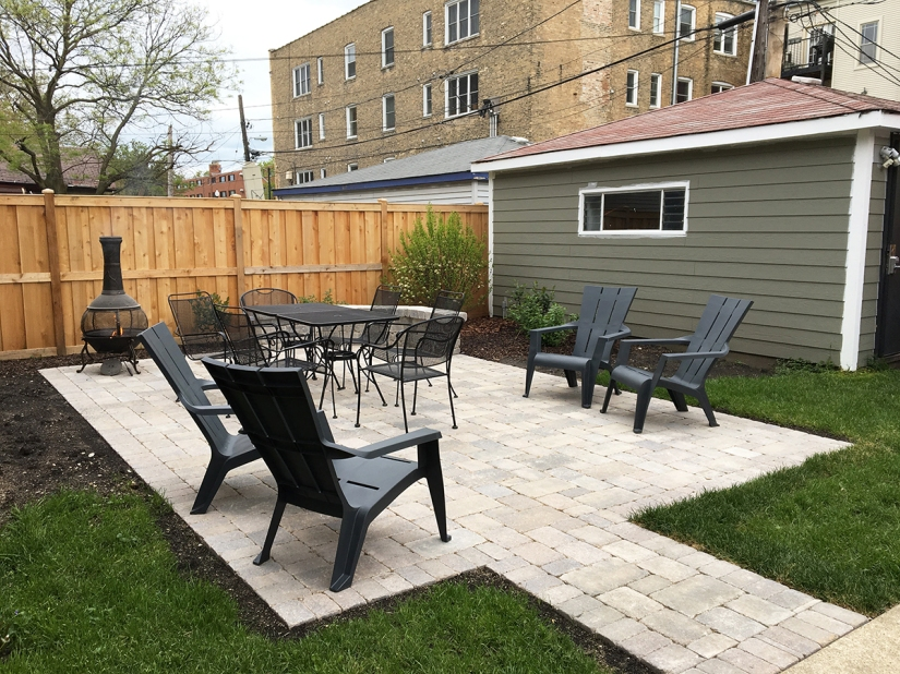 Backyard Patio, Painting, and Landscaping
