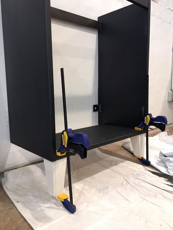 Attaching Legs to an IKEA Vanity 2.JPG
