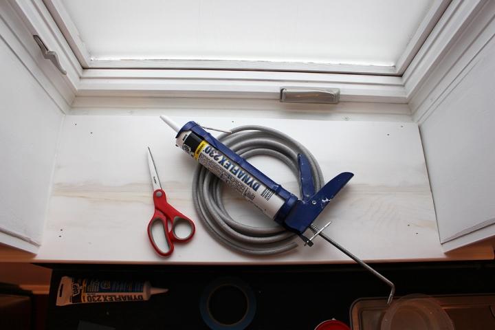 Kitchen Progress: Faucet, Hardware, and WindowTrim