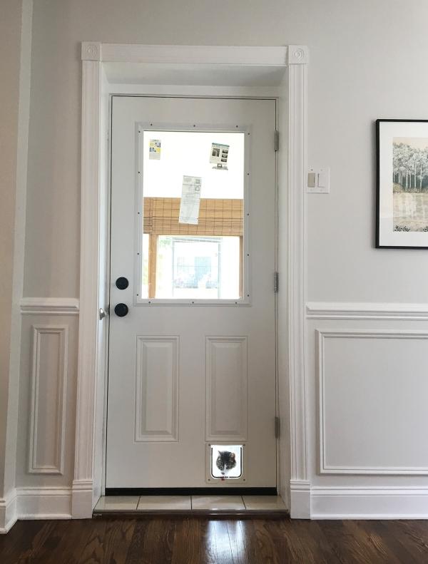 Newly Installed Kitchen Door.JPG