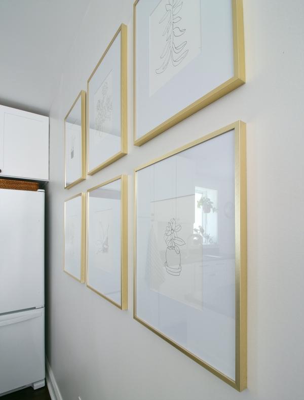 Brass Frame Grid