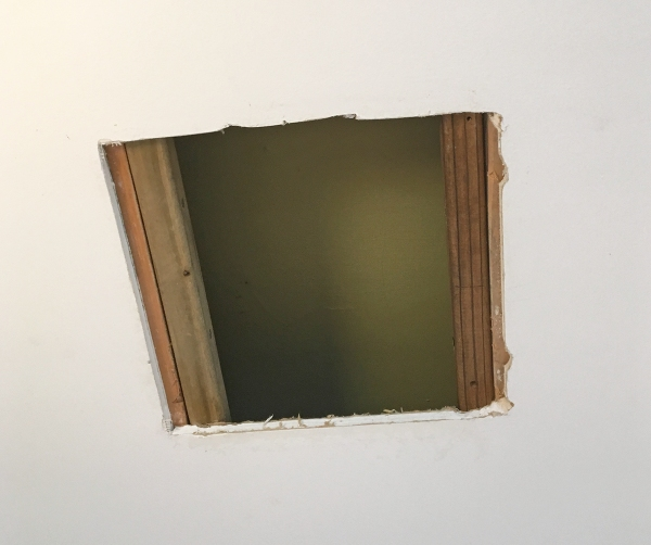 Ceiling Hole Patching
