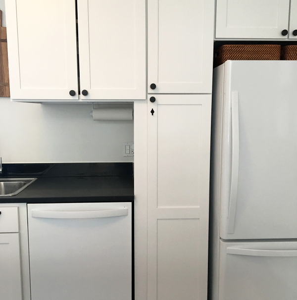 Gap Between Kitchen Counter And The Bottom Cabinet