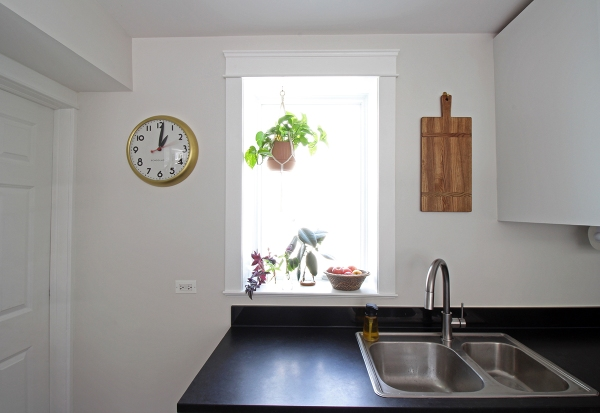 Kitchen Window Clock and Hanging Cutting Board.jpg
