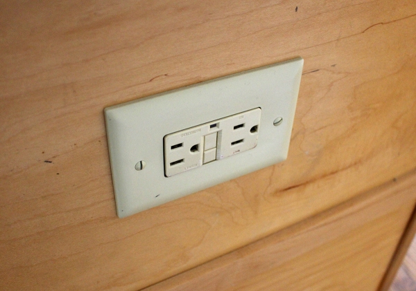 Outlet Before