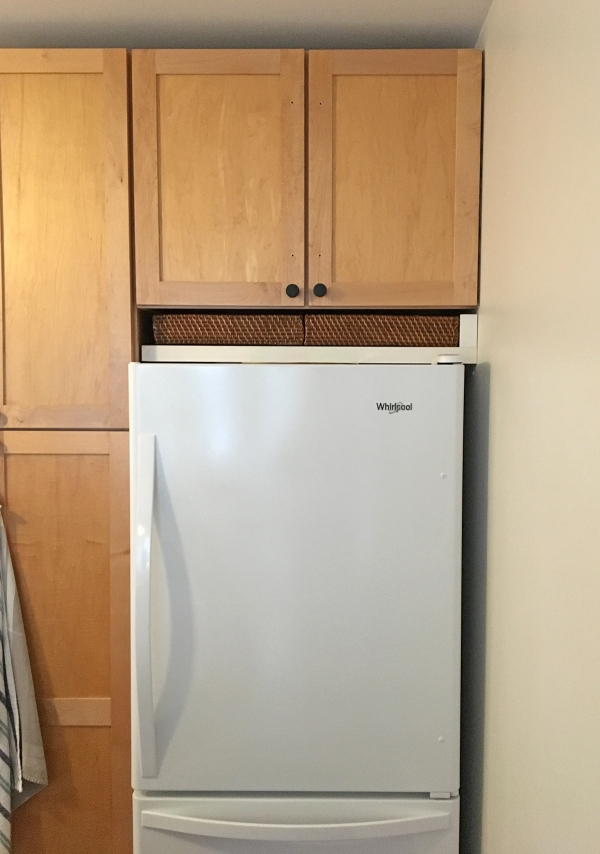 Space Above Fridge Option