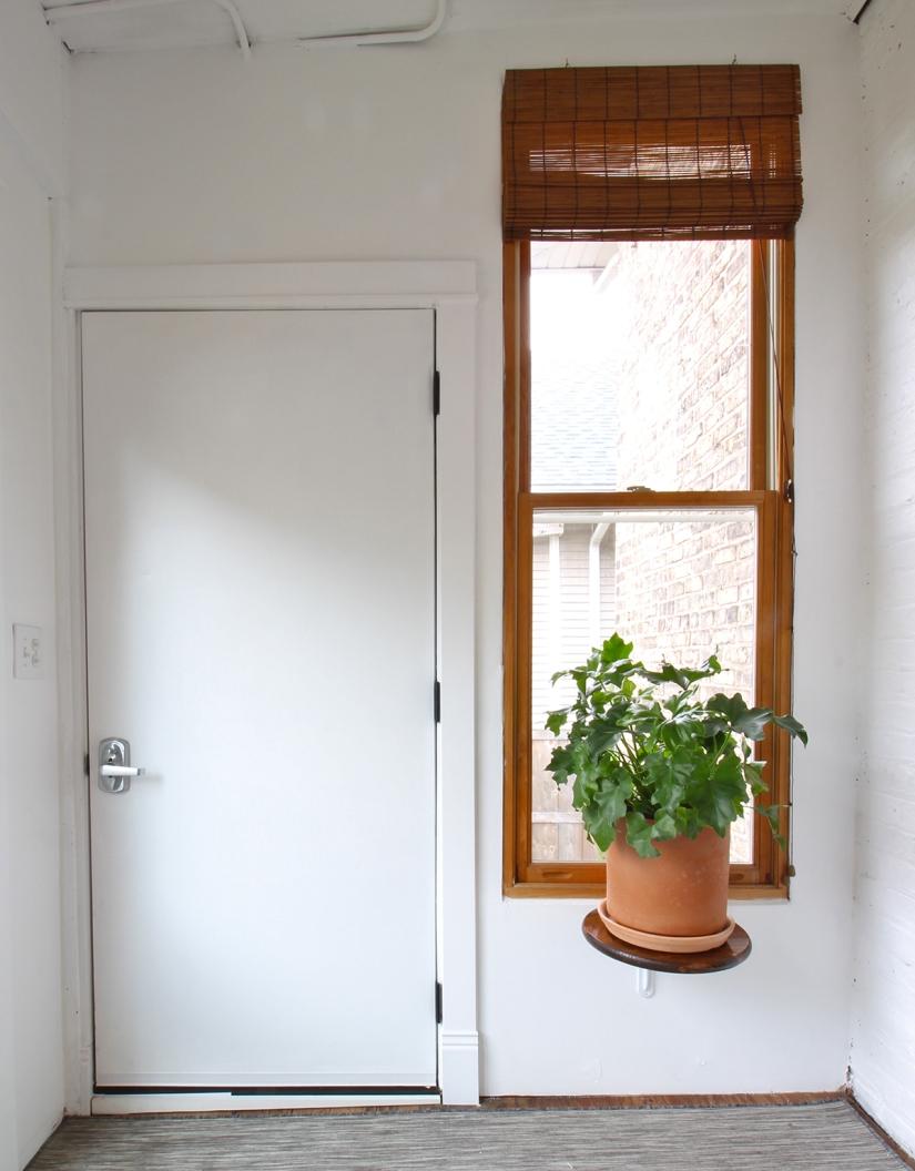 ORC Week 4: Door Trim, Window Shade, and PlantShelf