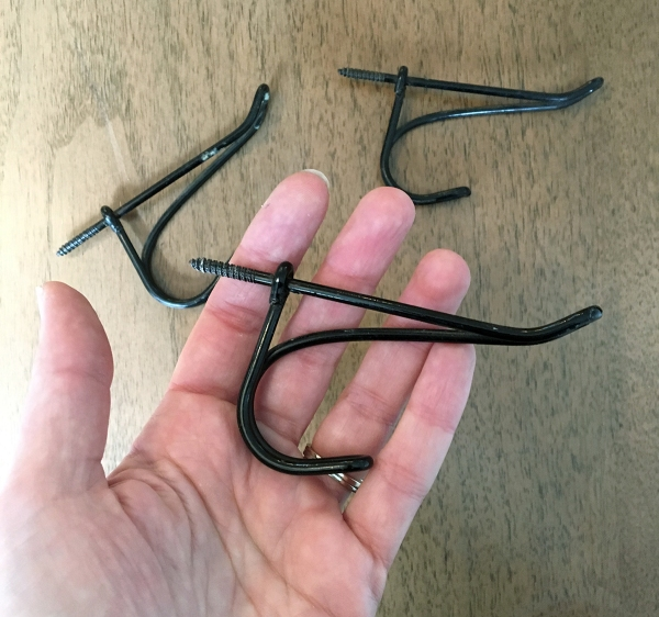 Vintage Twisted Wire Hooks