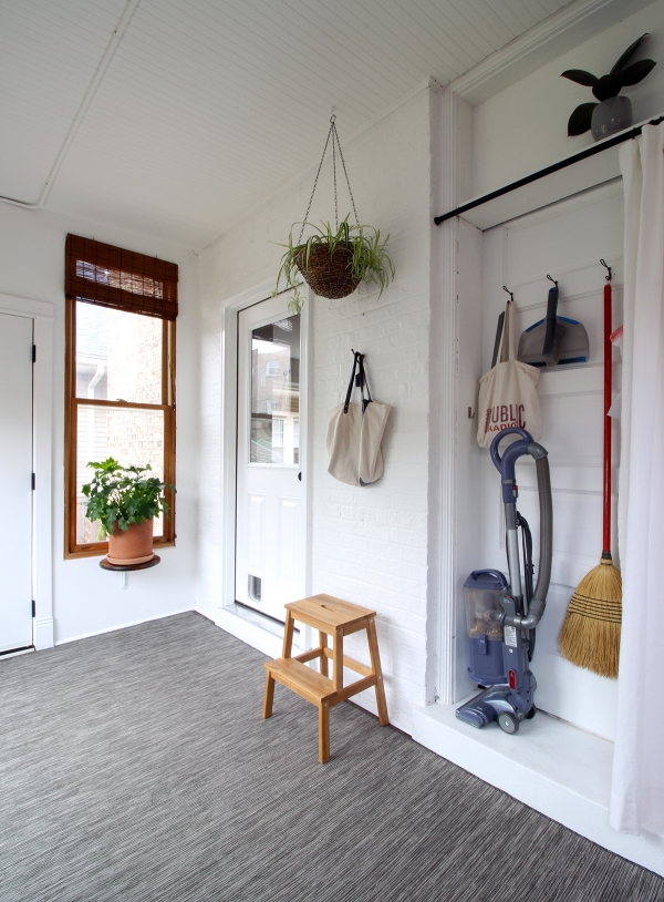 Mudroom Wall Broom Closet.JPG