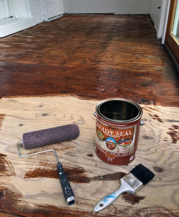 Ready Seal Stained Plywood Floor.JPG