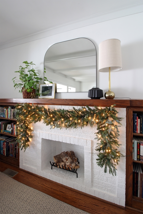Bungalow Fireplace Mantle