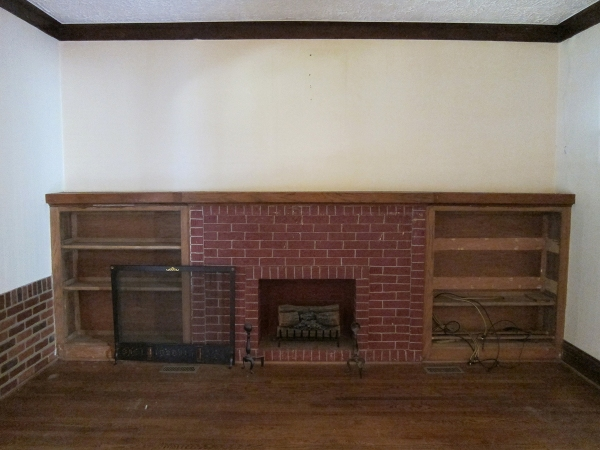 Fireplace Before 2