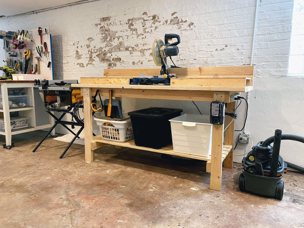 Basement Saw Bench