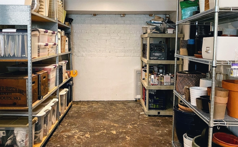 Our Clean, Organized, and Practical UnfinishedBasement