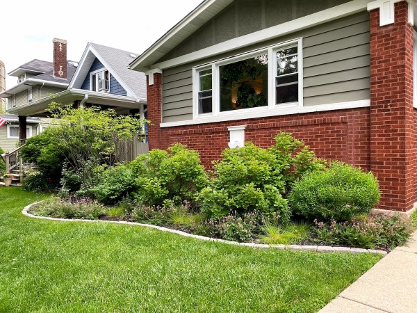 Front Yard Landscaping Bed